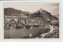 SISTERON - ALPES DE HAUTE PROVENCE - LA DURANCE, LA VILLE ET LE CITADELLE - Sisteron