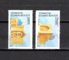 Turquía   2000  .-   Y&T  Nº   2978/2979 - Usados