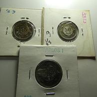 Portugal 3 Coins Year 1900 Varnished - Munten & Bankbiljetten