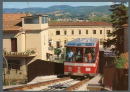 °°° Cartolina - Orvieto Nuova Funicolare Piazza Della Stazione Piazza Cahen Scritta °°° - Terni