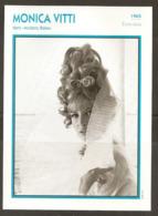 PORTRAIT DE STAR 1965 ÉTATS UNIS USA - ACTRICE MONICA VITTI MODESTY BLAISE - UNITED STATES USA ACTRESS CINEMA FILM PHOTO - Fotos