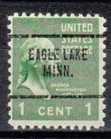 USA Precancel Vorausentwertung Preo, Locals Minnesota, Eagle Lake 704 - Vereinigte Staaten