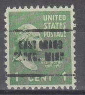 USA Precancel Vorausentwertung Preo, Locals Minnesota, East Grand Forks 705 - Vereinigte Staaten