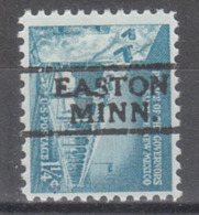 USA Precancel Vorausentwertung Preo, Locals Minnesota, Easton 728 - Vereinigte Staaten