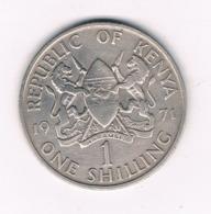 1 SHILLING   1971 KENIA /8691/ - Kenya