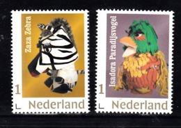 Nederland 2019 Nvph Nr ??. Mi Nr ?? :'Fabeltjeskrant Met Zaza Zebra + Isadora Paradijsvogel - Neufs