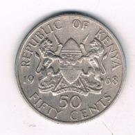50 CENTS 1968 KENIA /8692/ - Kenya