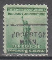 USA Precancel Vorausentwertung Preo, Locals Minnesota, Edgerton 703 - Vereinigte Staaten