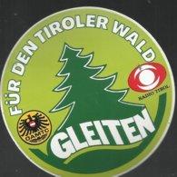 Autocollant - Radio Tirol - Gleiten - Für Den Tiroler Wald - öamtc - Autocollants