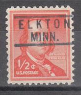 USA Precancel Vorausentwertung Preo, Locals Minnesota, Elkton 818 - Vereinigte Staaten