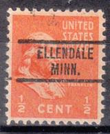 USA Precancel Vorausentwertung Preo, Locals Minnesota, Ellendale 734 - Vereinigte Staaten