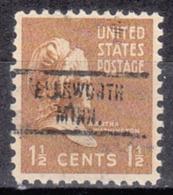 USA Precancel Vorausentwertung Preo, Locals Minnesota, Ellsworth 734 - Vereinigte Staaten