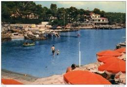 CAP D'ANTIBES Plage De La Garoupe. Carte écrite En 1959 - Cap D'Antibes - La Garoupe