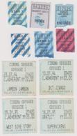Lot 10 Tickets De Cinéma Star Et Odyssée Strasbourg + Espace St Michel Et Entrepôt Paris - Tickets - Entradas