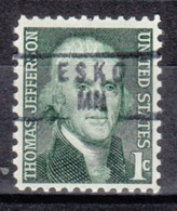 USA Precancel Vorausentwertung Preo, Locals Minnesota, Esko 840 - Vereinigte Staaten