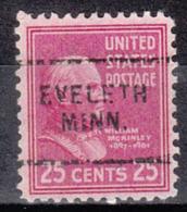 USA Precancel Vorausentwertung Preo, Locals Minnesota, Eveleth 703 - Vereinigte Staaten