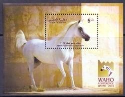 2014 QATAR  WAHO  Conference Souvenir Sheets MNH - Qatar