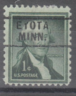 USA Precancel Vorausentwertung Preo, Locals Minnesota, Eyota 729 - Vereinigte Staaten