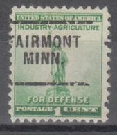 USA Precancel Vorausentwertung Preo, Locals Minnesota, Fairmont  703 - Vereinigte Staaten
