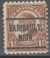 USA Precancel Vorausentwertung Preo, Locals Minnesota, Faribault 582-219 - Vereinigte Staaten