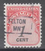 USA Precancel Vorausentwertung Preo, Locals Minnesota, Felton 841 - Vereinigte Staaten