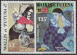 Wallis, PA N° 110 à N° 111** Y Et T - Poste Aérienne