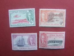 1950 CAYMAN ISLANDS 9d , 1/ , 2/ , 10/ - Cayman Islands