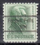 USA Precancel Vorausentwertung Preo, Locals Minnesota, Fergus Falls 843 - Vereinigte Staaten