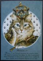 411 Carte Postale Matou 1er Extrait Du Livre  : Les Chats: Le Livre Secret Séverine Pineaux - Gatti