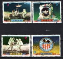 LIBERIA - 1972 - Apollo 16 US Moon Mission, Apr. 15-27, - USATI - Liberia