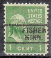 USA Precancel Vorausentwertung Preo, Locals Minnesota, Fisher 729 - Vereinigte Staaten