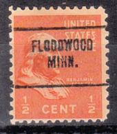 USA Precancel Vorausentwertung Preo, Locals Minnesota, Floodwood 704 - Vereinigte Staaten