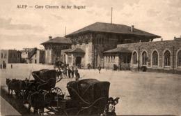 Alep - Gare Chemin De Fer Bagdad - Liban Lebanon Syria Syrie - Belle Animation - Libano