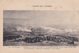 Militaria. Panorama Siège SEBASTOPOL  Gal Canrobert & Lord Raglan . Bombardements. Batteries De Moskowa. Tour Malakoff - Andere Kriege
