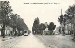 CPA 45 Loiret Orléans Avenue Dauphine Et La Rue Du Coq St Saint Marceau Tramway - Orleans