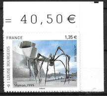 France 2010 Timbre Adhésif Neuf N°471Louise Bourgeois Cote 8 Euros - Adhésifs (autocollants)