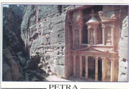 1800 PETRA - FAÇADE DE L'ENTRÉE DU TEMPLE - Giordania