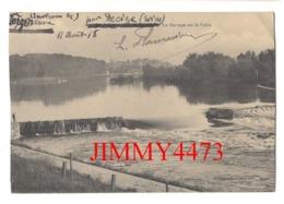 CPA - Le Barrage Sur La Loire En 1918 - Environs De Decize 58 Nièvre - - Decize