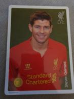 Steven Gerard Postcard - FC Liverpool - Football