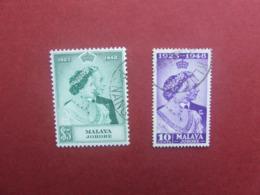 1948 MALAYA JOHORE USED SET - Johore
