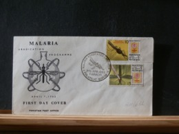 A11/632 FDC   PAKISTAN  1962 MALARIA - Maladies