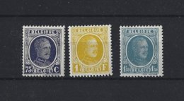 Belgique: 204-205-207 ** - Belgique