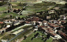 Cpsm Petit Format ST SEURIN D'UZET  Vue Generale Aérienne Colorisée RV - Autres Communes
