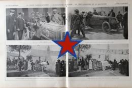 1904 COUPE GORDON BENNETT - L'ÉLIMINATOIRE FRANÇAISE - VILLIERS LE TOURNEUR - MAZAGRAN - PNEU MICHELIN - THÉRY - Books, Magazines, Comics