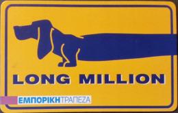 Telefonkarte Griechenland - 04/01 - Werbung - Telebank  - Aufl. 35000 - Grèce