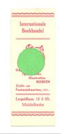 "Marque-pages Publicitaire - ""Internationale Boekhandel / Librairie Internationale "" MIDDELKERKE  (b260/5) - Marque-Pages"