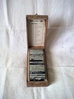 ANCIENNE BOÎTE COMPLETE DE 18 TIMBRES EN CAOUTCHOUC. LES EDITIONS EUROPEENNES à AIX-LES-BAINS. SUJETS DIVERS. Série A 8 - Zonder Classificatie
