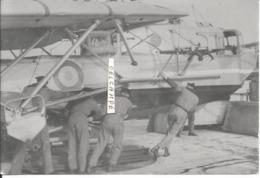 PHOTO AVION HYDRAVION  LOIRE 130  AVORD   12X17CM - Aviazione