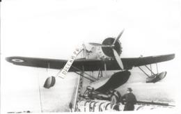 PHOTO AVION HYDRAVION  A IDENTIFIER  MISE A L'EAU     12X17CM - Aviation