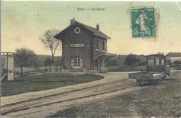 CPA Sacy Gare - Reims